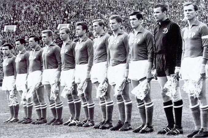 La Selección de la URSS era la más potente del torneo