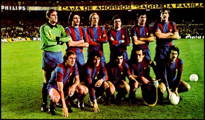 11 inicial del FC Barcelona frente al RSC Anderlecht en el Camp Nou