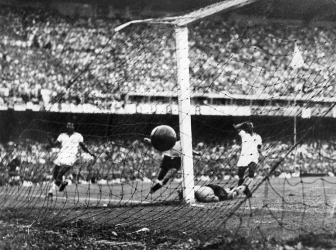 Ghiggia marcó un gol legendario para la selección uruguaya en Maracaná