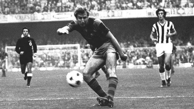 Charly Rexach marcó un gol y dio asistencia en la final de la Recopa de Europa de 1979
