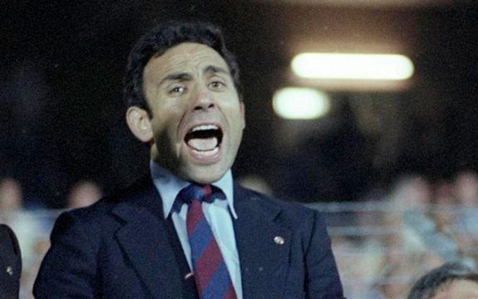 Joaquim Rifé fue entrenador del FC Barcelona entre 1979 y 1980