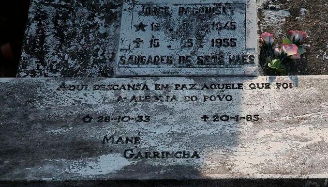 Tumba de Garrincha