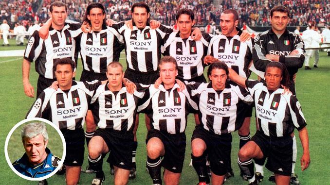 Juventus de Turín en la final de la Copa de Europa de 1998