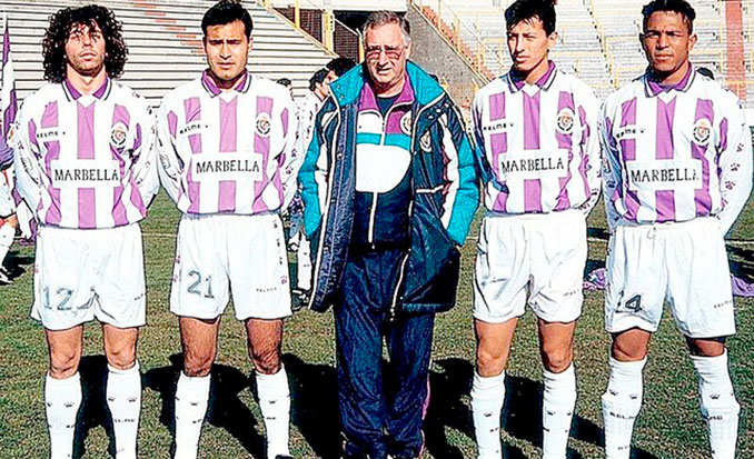 Vicente Cantatore llegó para reconducir al Real Valladolid