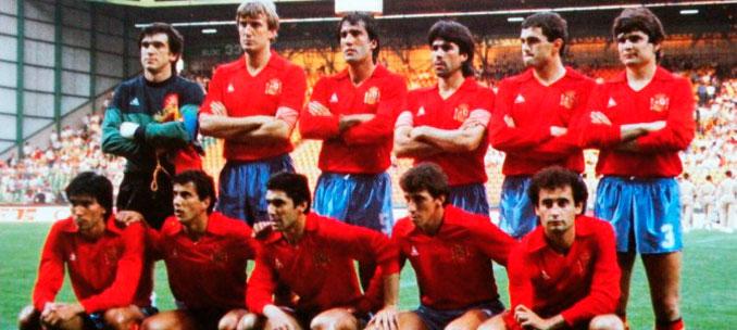 España en la Eurocopa de Francia 1984