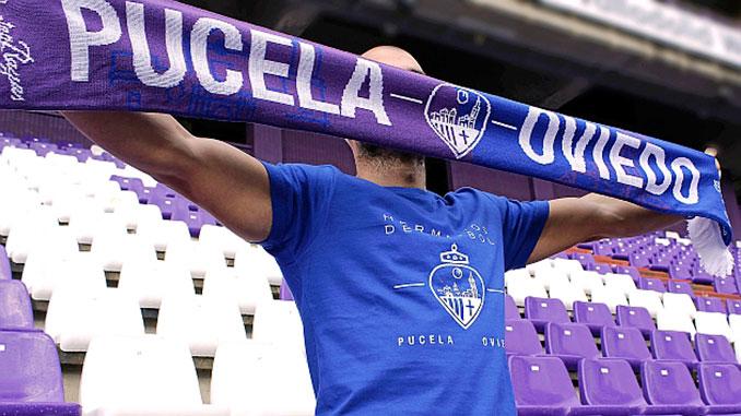 """El colegiado Japón Sevilla """"consiguió"""" hermanas a las aficiones de Oviedo y Valladolid"""