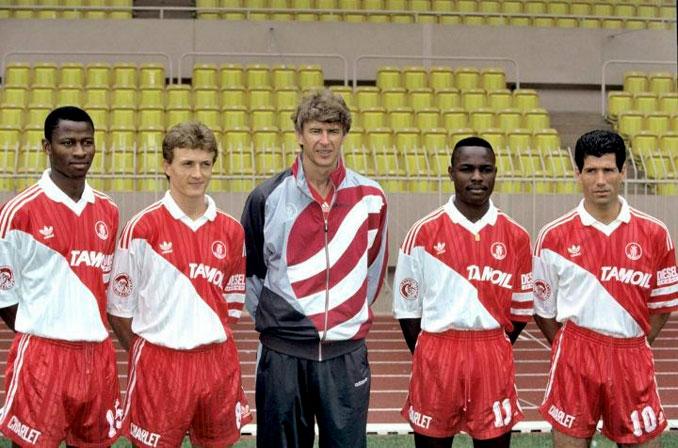 George Weah entre los fichajes del Mónaco de Arsène Wenger en la 88-89 - Odio Eterno Al Fútbol Moderno