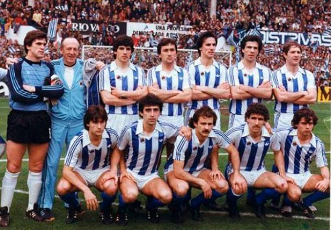 Real Sociedad de la temporada 81-82