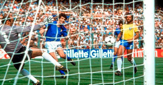 Paolo Rossi tenía una habilidad innata para el gol