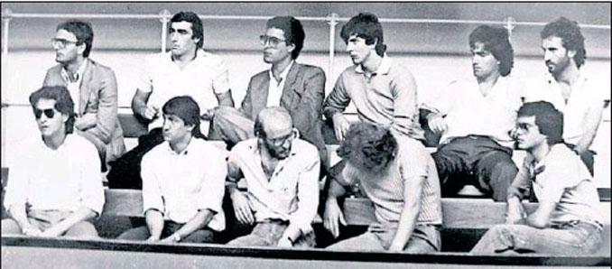 """Banquillo de los acusados por el escándalo """"Totonero"""""""