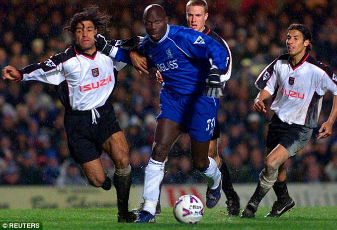 George Weah su etapa en el Chelsea - Odio Eterno Al Fútbol Moderno