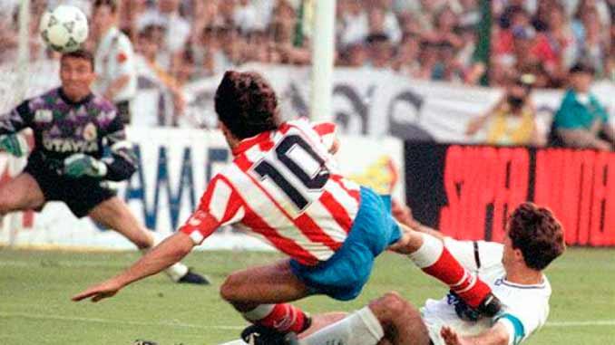Gol de Paulo Futre en la final de Copa del Rey de 1992