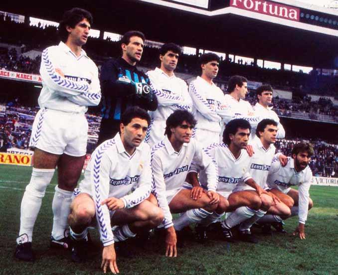 Real Madrid a comienzos de los 90