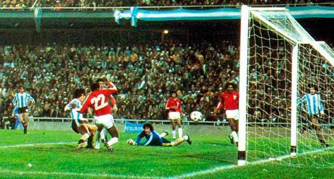 Perú no fue rival para Argentina aquella tarde