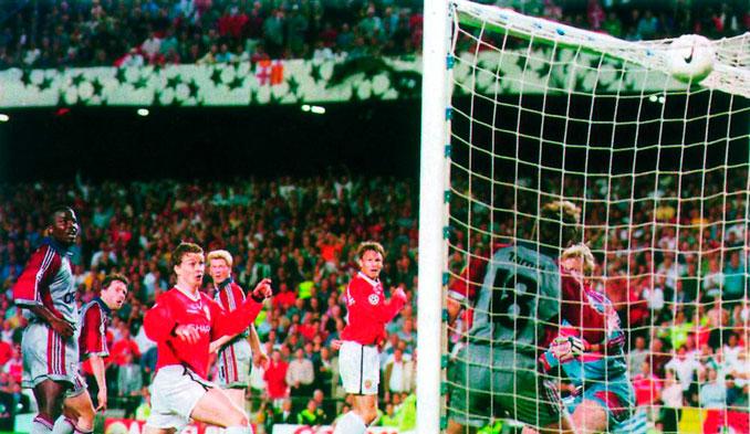Solksjaer certificó la remontada para el Manchester United