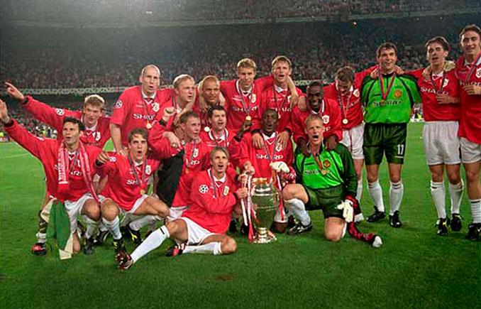 """El Manchester United logró el """"triplete"""" en 1999 - Odio Eterno Al Fútbol Moderno"""