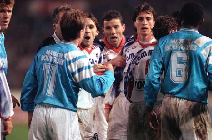 """La Boucherie"" de 1992 cruzó las fronteras de la Ligue 1"