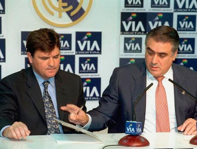 Camacho en su presentación como entrenador del Real Madrid