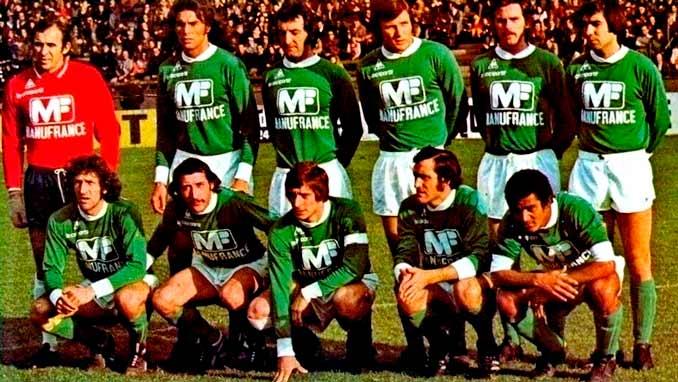 Association Sportive de Saint-Étienne en la temporada 74-75