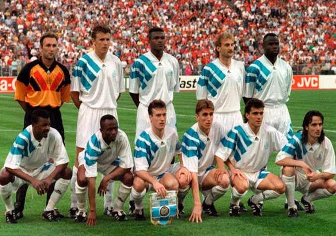 Olympique de Marsella en al temporada 92-93