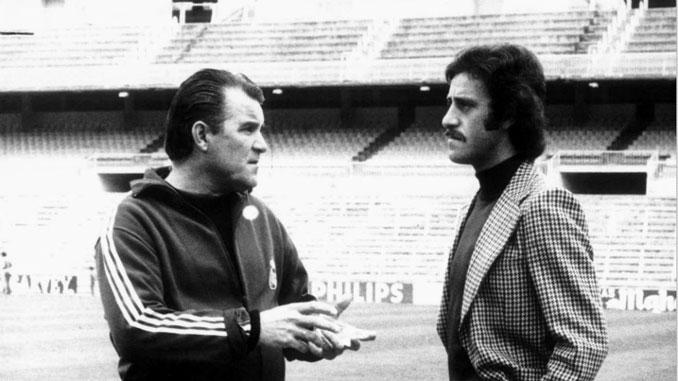 Miljanic y Del Bosque en distintas etapas fueron entrenador del Real Madrid