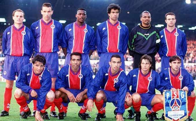 PSG campeón de la Recopa de Europa de 1996