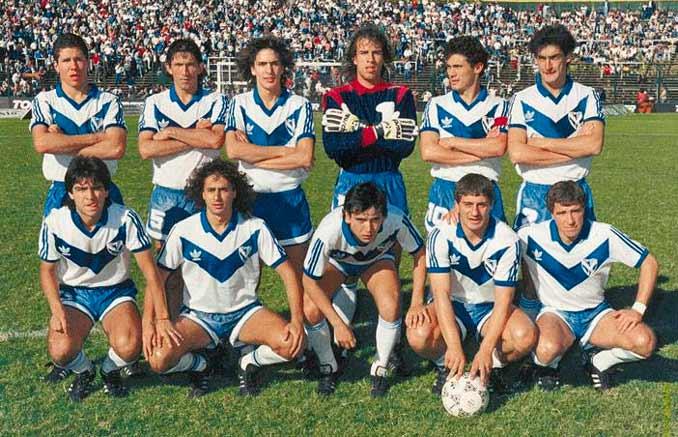 Vélez Sarsfield en la temporada 87-88