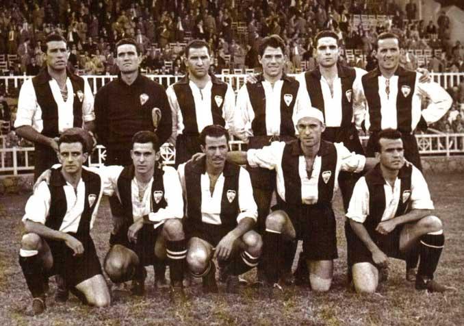 CD Alcoyano en la década de los 40