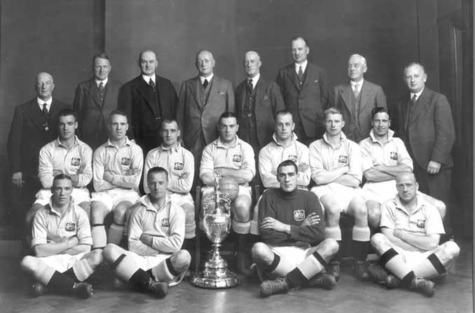 El Manchester City ganó su primer título liguero en 1937