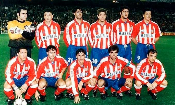 """Molina llegó al Atlético de Madrid en la temporada de """"El Doblete"""""""