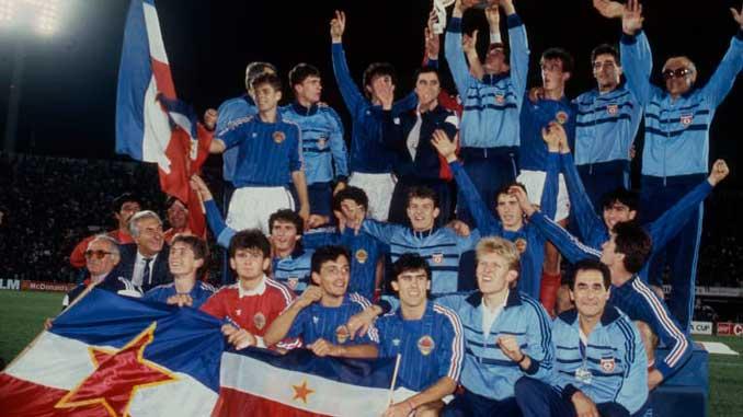 Yugoslavia campeona del Mundial sub-20 en 1987 - Odio Eterno Al Fútbol Moderno