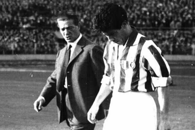 Cesarini y Omar Sívori coincidieron en la Juventus de Turín - Odio Eterno Al Fútbol Moderno