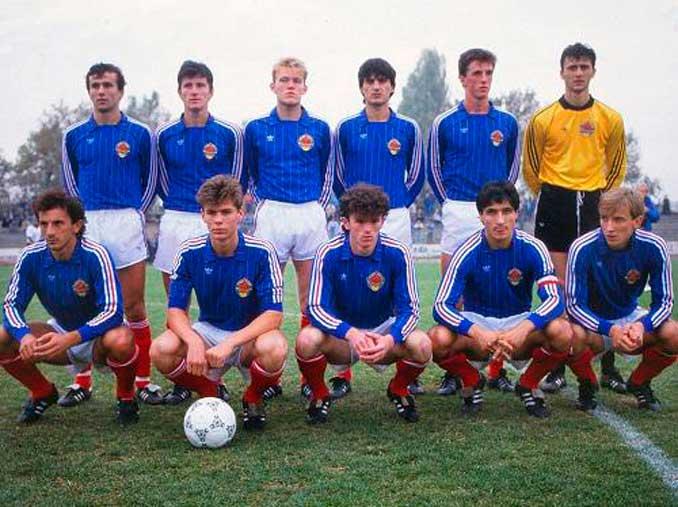 Davor Suker formó parte de la Selección de Yugoslavia que ganó el Mundial sub-20 en 1987 - Odio Eterno Al Fútbol Moderno