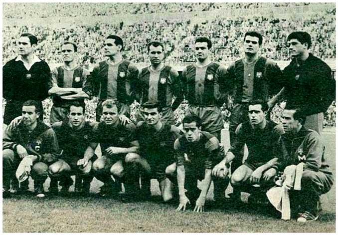 La Copa de Europa era la tabla de salvación del Barcelona en la 60-61