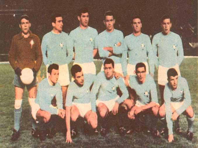 Celta de Vigo durante la temporada 1961-1962 - Odio Eterno Al Fútbol Moderno