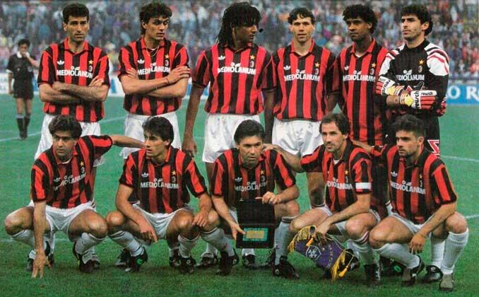 Este AC Milan se ganó el sobrenombre de Los Inmortales - Odio Eterno Al Fútbol Moderno