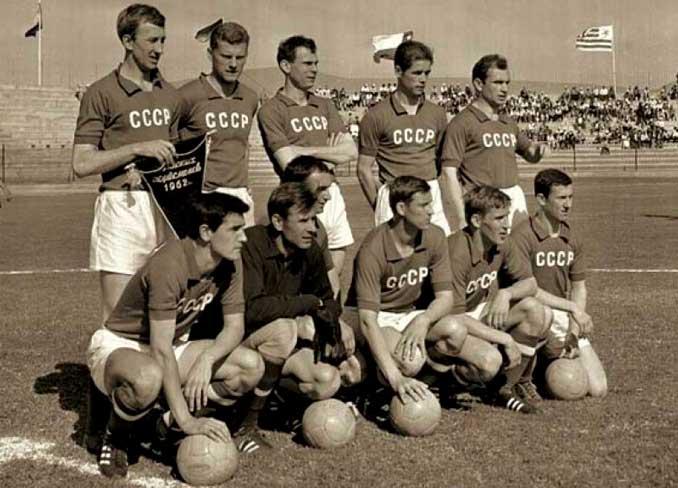 Once titular de la selección de la URSS en Chile 1962 - Odio Eterno Al Fútbol Moderno