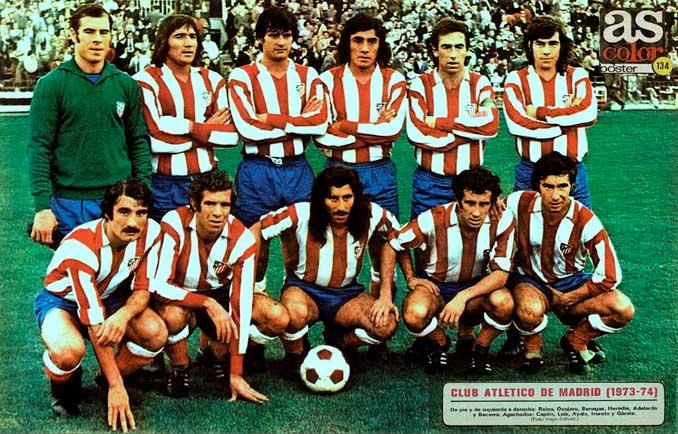 Atlético de Madrid en la temporada 73-74