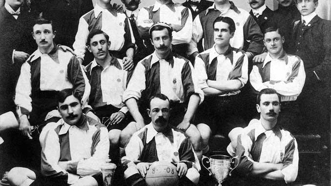 El Club Bizcaya, fusión del Athletic Club y otros equipos de Bilbao fue campeón de la Copa de la Coronación en 1902 - Odio Eterno Al Fútbol Moderno