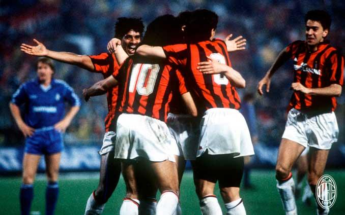 El AC Milan de Los Inmortales dejó partidos para el recuerdo - Odio Eterno Al Fútbol Moderno