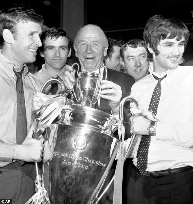 La Copa de Europa del '68 quedaba muy atrás en el tiempo - Odio Eterno Al Fútbol Moderno