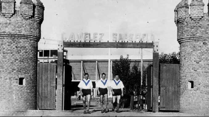 El campo de Vélez Sarsfield parecía un auténtico fortín - Odio Eterno Al Fútbol Moderno