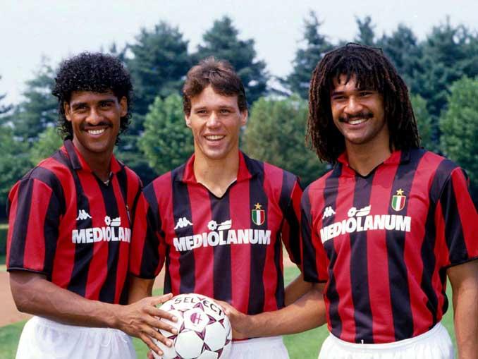 Rijkaard, Van Basten y Gullit dieron un salto de calidad al equipo - Odio Eterno Al Fútbol Moderno