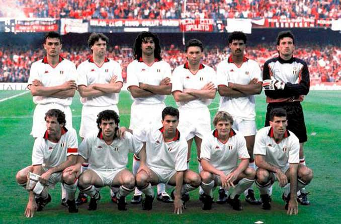 El Milan de Sacchi conquistó dos Copas de Europa consecutivas - Odio Eterno Al Fútbol Moderno