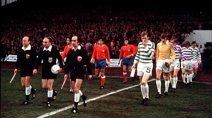 Semifinales de la Copa de Europa 73-74 entre Celtic y Atlético de Madrid