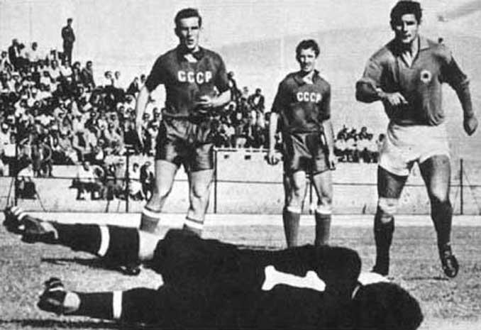 URSS vs Yugoslavia del Mundial de Chile 1962