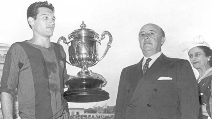 El FC Barcelona ganó 9 Copas durante la dictadura