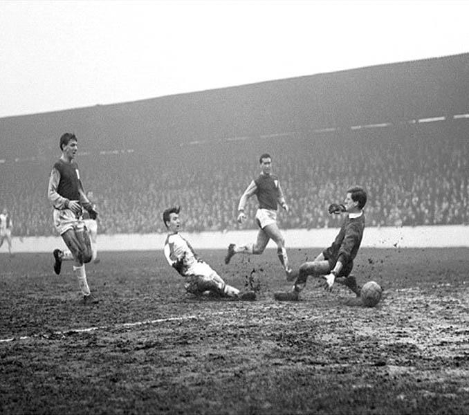 El Blackburn Rovers ganó 2-8 en el Boleyn Ground en el Boxing Day de 1963 - Odio Eterno Al Fútbol Moderno