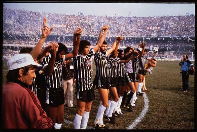 Aquel Corinthians ganó dos Campeonatos Paulistas consecutivos