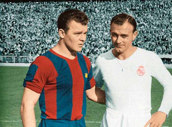 Kubala y Di Stéfano, jugadores de época en FC Barcelona y Real Madrid - Odio Eterno Al Fútbol Moderno